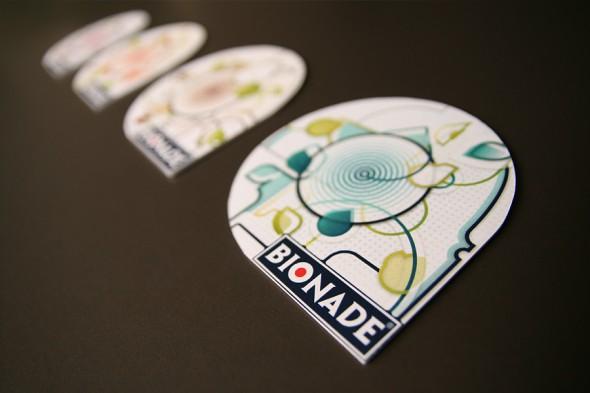 Bionade coasters