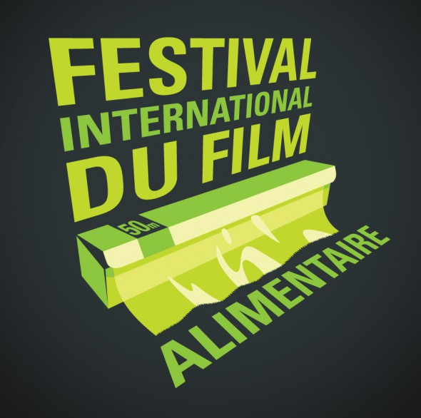 Festival du Film Alimentaire t-shirt design