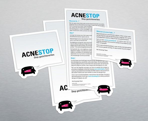 AcneStop flyers
