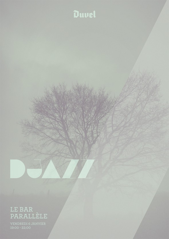 DJazz Poster Le Bar Parallèle