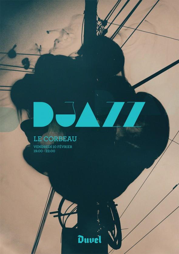 DJazz Poster Le Corbeau