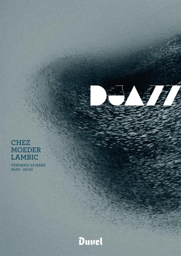DJazz Poster Chez Moeder Lambic