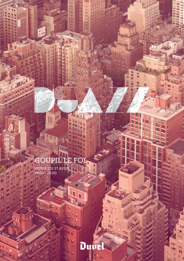 DJazz Poster Goupil Le Fol